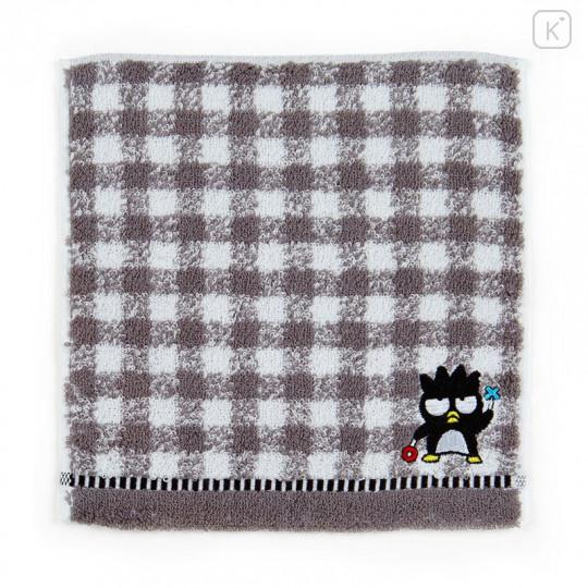 Japan Sanrio Petit Towel - Badtz-maru / Check - 1