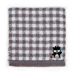 Japan Sanrio Petit Towel - Badtz-maru / Check