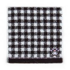 Japan Sanrio Petit Towel - Kuromi / Check