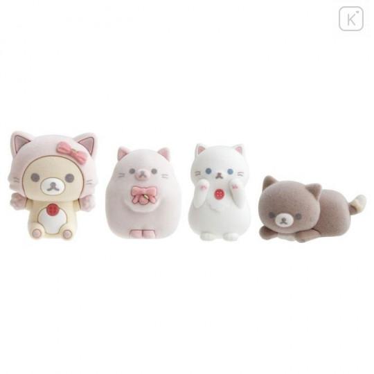 Japan San-X Figure Set - Korilakkuma / Strawberry Cat - 1
