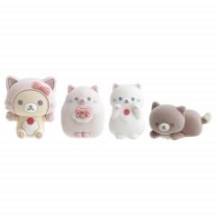 Japan San-X Figure Set - Korilakkuma / Strawberry Cat