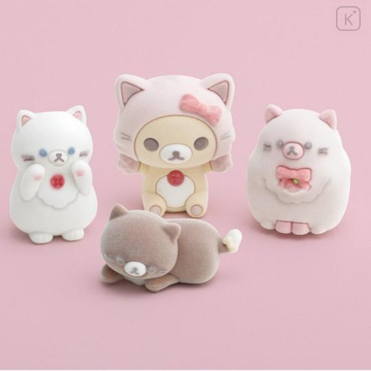 Japan San-X Figure Set - Korilakkuma / Strawberry Cat - 3