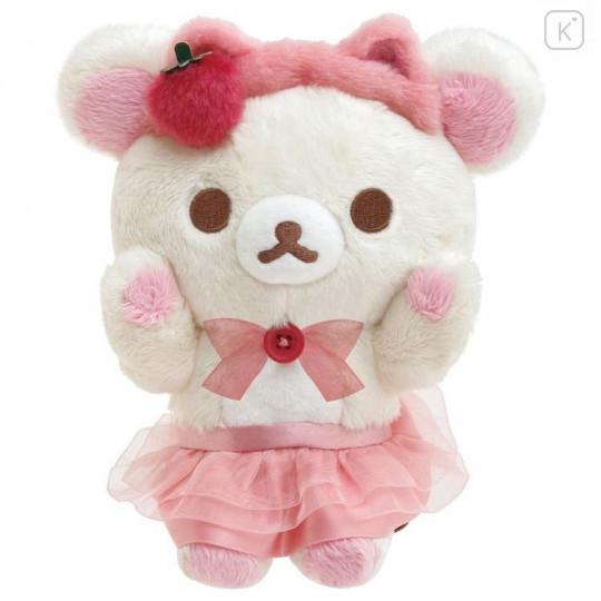 Japan San-X Plush - Korilakkuma / Strawberry Cat - 1