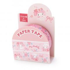 Japan Sanrio Washi Paper Masking Tape - My Melody / Flower