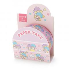 Japan Sanrio Washi Paper Masking Tape - Little Twin Stars / Sky