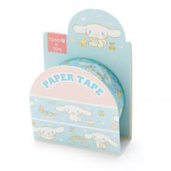 Japan Sanrio Washi Paper Masking Tape - Cinnamoroll / Blue
