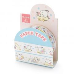 Japan Sanrio Washi Paper Masking Tape - Pochacco / Cushion