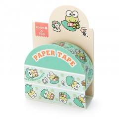 Japan Sanrio Washi Paper Masking Tape - Keroppi / Leaf
