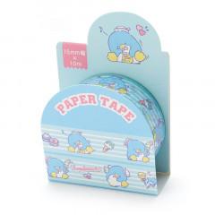 Japan Sanrio Washi Paper Masking Tape - Tuxedosam / Sweets