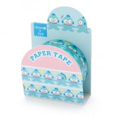 Japan Sanrio Washi Paper Masking Tape - Hangyodon / Line Up