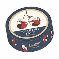Japan Peanuts Washi Paper Masking Tape - Snoopy / Cherry