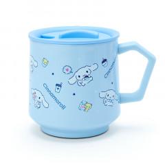 Japan Sanrio Stainless Mug with Lid - Cinnamoroll