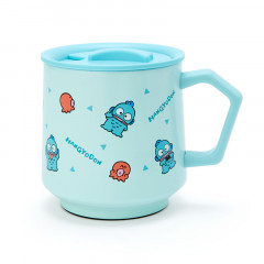 Japan Sanrio Stainless Mug with Lid - Hangyodon