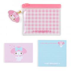 Japan Sanrio Memo with Vinyl Case - My Melody