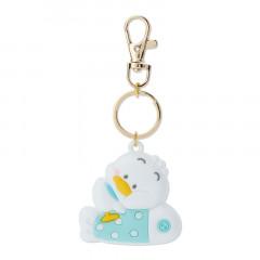 Japan Sanrio Rubber Keychain - Pekkle / Little Pekkle Fish