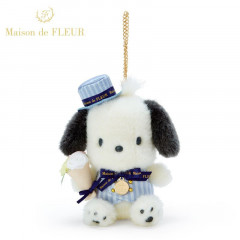 Japan Sanrio Maison de FLEUR Keychain Plush - Pochacco