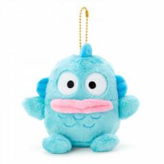 Japan Sanrio Fluffy Keychain Plush - Hangyodon