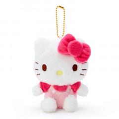 Japan Sanrio Fluffy Keychain Plush - Hello Kitty