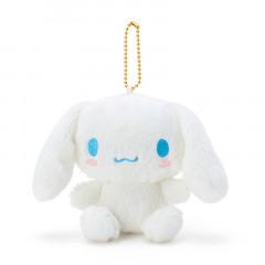 Japan Sanrio Fluffy Keychain Plush - Cinnamoroll