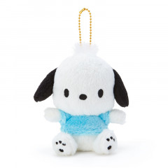 Japan Sanrio Fluffy Keychain Plush - Pochacco