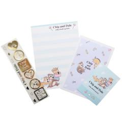 Japan Disney Petit Letter Envelope Set - Chip & Dale
