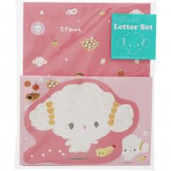 Japan Sanrio Die-cut Letter Set - Cogimyun