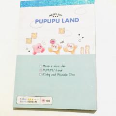 Japan Kirby A6 Notepad - Pupupu Land