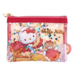 Sanrio Sequins Coin Pouch - Hello Kitty