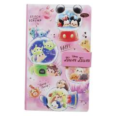 Japan Disney Smartphone Cover Memo Pad - Tsum Tsum