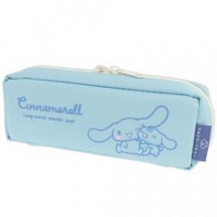 Japan Sanrio Tray Pen Pouch - Cinnamoroll / Light Blue