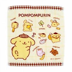 Japan Sanrio Hand Towel - Pompompurin / My Treasure