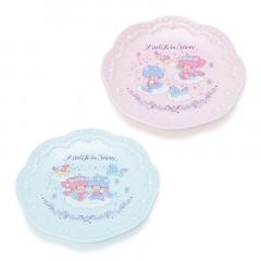 Japan Sanrio Plate 2pcs Set - Little Twin Stars / Aurora Unicorn
