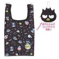 Japan Sanrio Eco Bag - Badtz-maru / Space