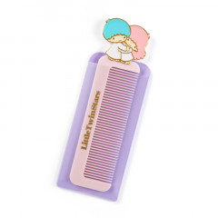 Japan Sanrio Compact Comb with Case - Little Twin Stars
