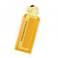 Japan Sanrio Compact Comb with Case - Pompompurin
