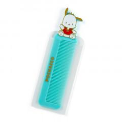 Japan Sanrio Compact Comb with Case - Pochacco