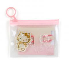 Japan Sanrio Ponytail Holder with Case - Hello Kitty