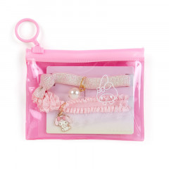 Japan Sanrio Hair Tie Set with Case - My Melody