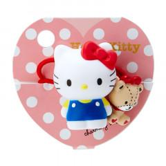 Japan Sanrio Mascot Ponytail Holder - Hello Kitty / Good Friends