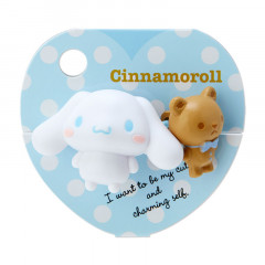 Japan Sanrio Mascot Ponytail Holder - Cinnamoroll / Good Friends