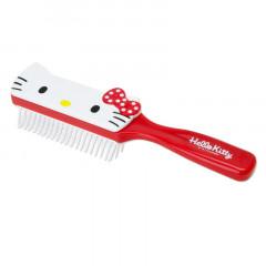 Japan Sanrio Face Hair Brush - Hello Kitty