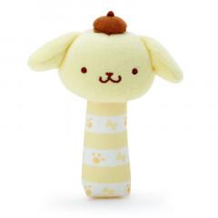 Japan Sanrio Stick Mascot for Baby - Pompompurin