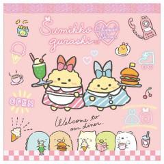 Japan San-X Square Memo - Sumikko Gurashi / Shippo's Diner A
