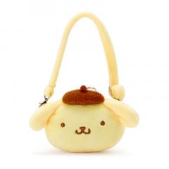 Japan Sanrio Miniature Face Pochette - Pompompurin / Pitatto Friends