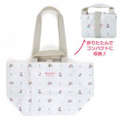 Japan Sanrio 2way Tote Bag - Hello Kitty