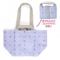 Japan Sanrio 2way Tote Bag - Kuromi