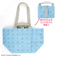 Japan Sanrio 2way Tote Bag - Snoopy
