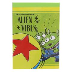 Japan Disney Mini Notepad - Aliens / Toys in Sports