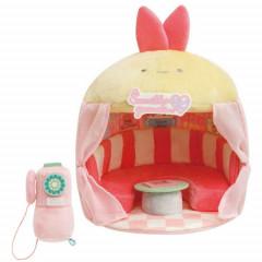 Japan San-X Scene Plush Toy - Sumikko Gurashi / Shippo's Diner