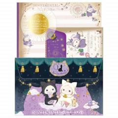 Japan San-X Letter Envelope Set - Sentimental Circus / Spica & Black Cat